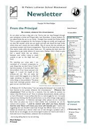 term 2 issue 7 2013.pub - St Peters Lutheran School