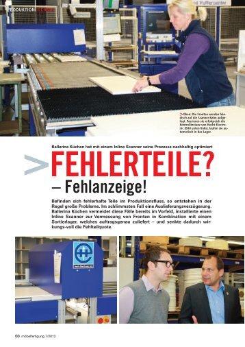 möbelfertigung Ausgabe 7/2012