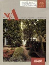 Jan-Feb - Triangle Modernist Houses