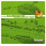 Jahresbericht 2007 - BUND e.V. Landesverband Thüringen
