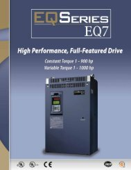 EQ7 Series Brochure (2MB) - TECO-Westinghouse Motor Company