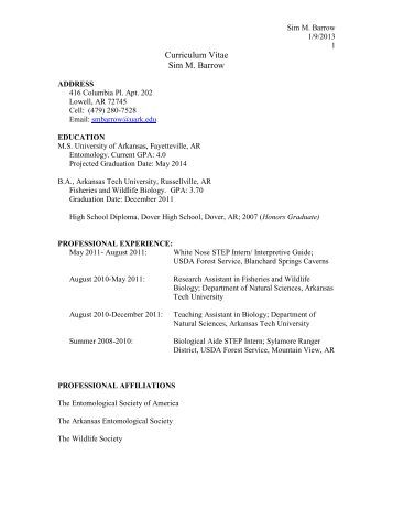 Resume samples from real professionals