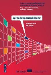Lernendenorientierung - h.e.p. verlag ag, Bern
