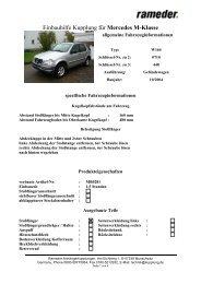 Einbauhilfe Kupplung für Mercedes M-Klasse