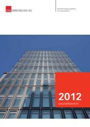 Geschäftsbericht 2012 - IFM Immobilien AG