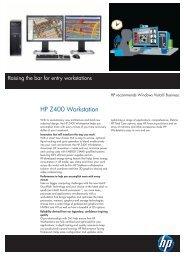 HP Z400 Workstation (KK619ET) - Specifications - Added Dimension