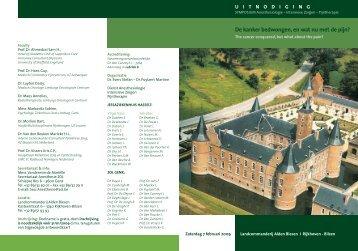 programma - Ziekenhuis Oost-Limburg