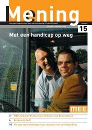 Mening nr 15 september 2008 - MEE Zuidoost Brabant