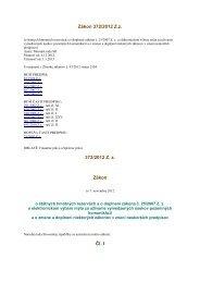 Zákon 372/2012 Z.z. o štátnych hmotných rezervách a o doplnení ...