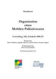 Handbuch - Koordination Palliativbetreuung Steiermark