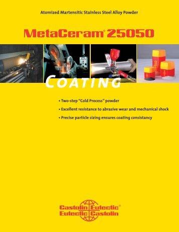 MetaCeram 25050.indd - Castolin Eutectic