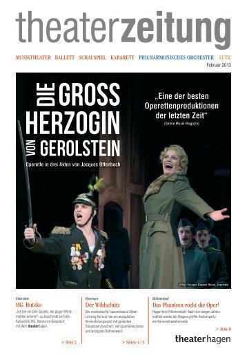 """""""Eine der besten Operettenproduktionen der letzten ... - Theater Hagen"""