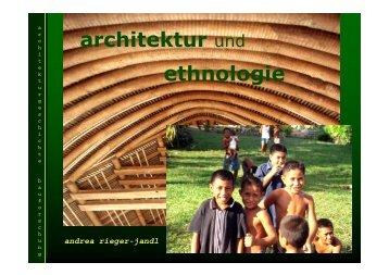 architektur und ethnologie