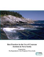 Cesarean Section Literature Review - Reproductive Care Program ...