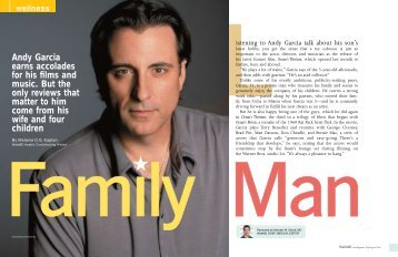 Andy Garcia earns accolades for his films and music. But the only ...