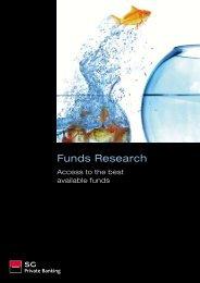Funds Research - Societe Generale Private Banking - Société ...