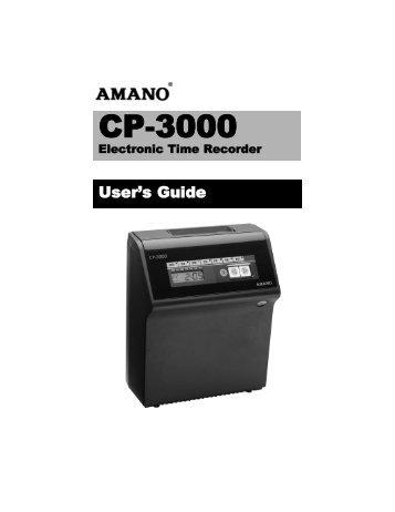 CP-3000 - Time Clock eShop