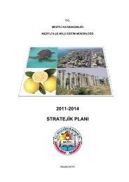 Stratejik Plan - Mezitli İlçe Milli Eğitim Müdürlüğü