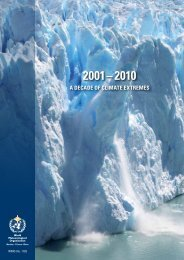 The Global Climate 2001-2010: A Decade Of ... - E-Library - WMO