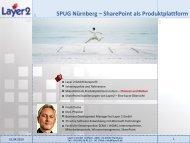 SharePoint Produkte - Layer 2 GmbH