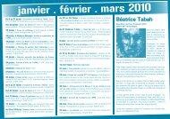 janvier . février . mars 2010 - MAIRIE DE VILLERS LES NANCY