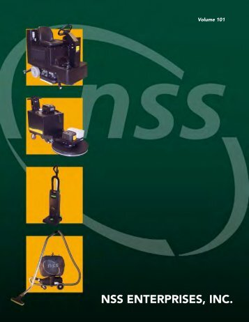 Products Brochure (English) - NSS Enterprises, Inc.