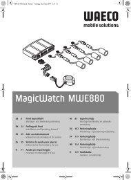 MagicWatch MWE880 - Waeco