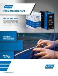 Foam Masking Tape 8278 (7/12) - Norton