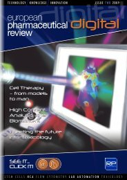 Issue 2 2009 - European Pharmaceutical Review