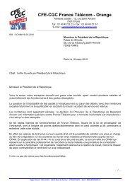 Lire la lettre ouverte au Président de la République