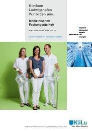 Medizinische/r Fachangestellte/r - Klinikum Ludwigshafen