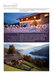 SAN LORENZO - Merrioncharles.com