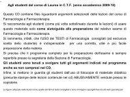fans - Università degli Studi di Bari