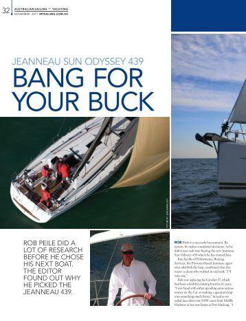 Australian Sailing + Yachting (AUS) - Jeanneau