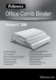 Pulsar E 402108 18L.pdf - Fellowes