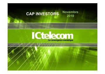 CAP INVESTORS - F2iC