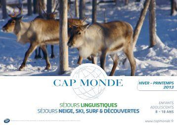 Brochure Hiver -Printemps - Cap Monde