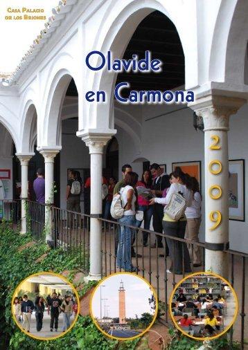 Revista 'Olavide en Carmona 2009' - Universidad Pablo de Olavide
