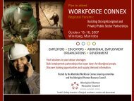 Invitation - Manitoba Forum - AHRDCC - Workforce Connex