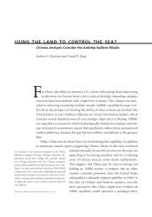 Using The Land To Control The Sea? - Andrew S. Erickson