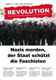 Januar, Februar 2012 - Revolution