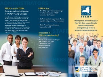 Download the PERMA Brochure - New York State School Boards ...