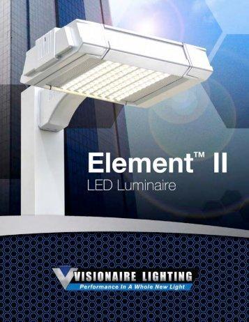Element II - Area Brochure - Visionaire Lighting, LLC