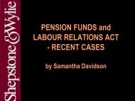 Section 197 of Labour Relations Act