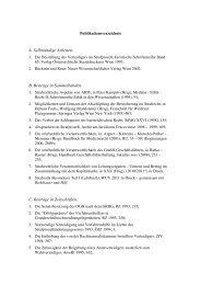 A. Selbständige Arbeiten - Institut für Strafrecht und Kriminologie