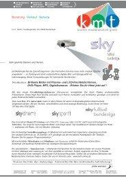 Aktuelles Mailing (PDF) zum Download - k.m.t. Kramer ...