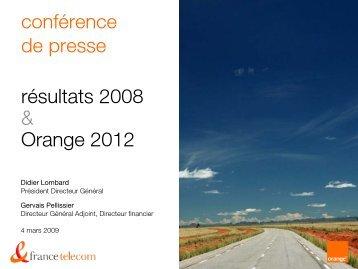 Version française de la présentation - Orange.com