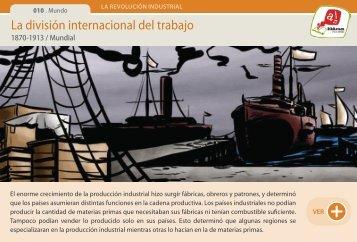 La división internacional del trabajo - Manosanta