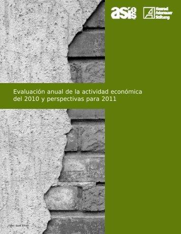 Sector real - Asociación de Investigación y Estudios Sociales