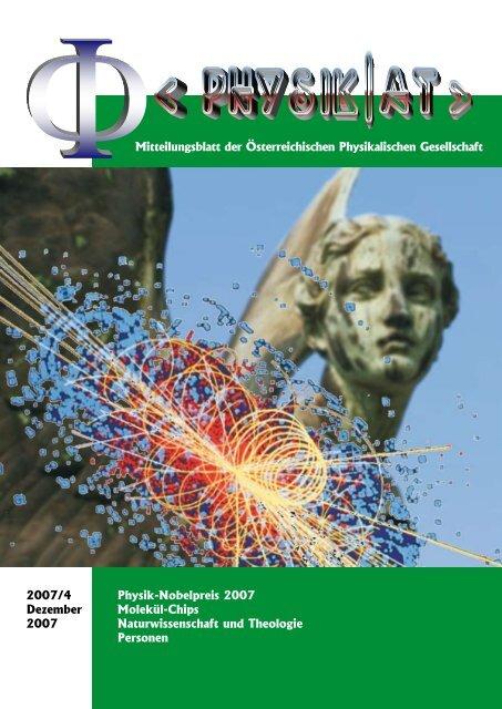 Physik uNd gesellschAfT - Austrian Physical Society